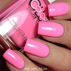 Color Club Flamingo Nail Polish