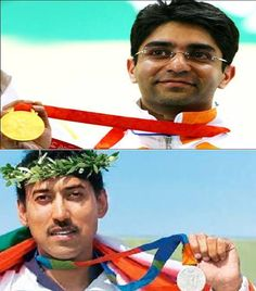 """A shot at History"" is the autobiography of?  a. Abhinav Bindra  b. Rajyawardhan Singh Rathore"