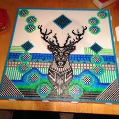 Deer hama perler art by snesommer