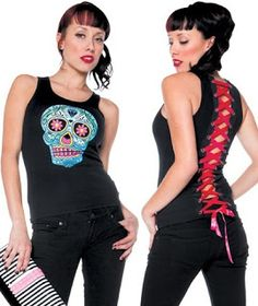 Goth Shopaholic: Folter's Corset T-Shirt Tops