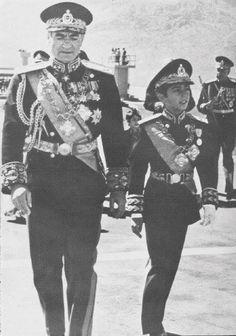 HIM Mohammad Reza Pahlavi and HIH Crown Prince Reza