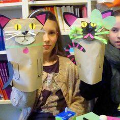 chat sac papier