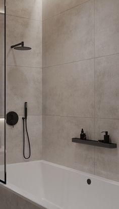 Home Building Design, Home Room Design, Home Interior Design, House Design, Small Bathroom Interior, Bathroom Design Small, Modern Bathroom, Minimalist Small Bathrooms, Minimalist Bathroom Design