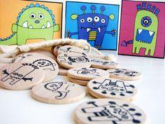 Make a Match  Monster Edition  A Montessori and by MamaMayI, $21.00