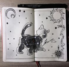"""Ursa Minor, """"the small bear"""" constellation. - ⭐️""""Ursa Major and Ursa Minor were mother and son who were transformed into bears, grabbed by their tails, and swung both into the heavens to live among the stars. The strength of the throw caused their short stubby tails to become elongated.""""⭐️"""