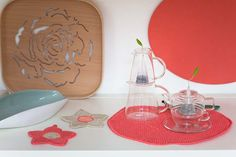 """""""Blooming"""" la nuova collezione Primavera 2015 di #Centrotavola #Milano scoprila su www.centrotavolamilano.it Teiera in vetro. Glass teapot"""