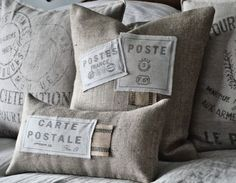 French Country Burlap