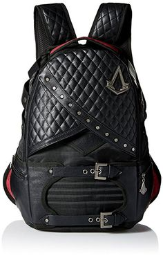 Amazon.com: Bioworld Men's Assassins Creed Laptop Backpack, Black: Clothing