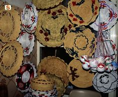 basketry in Asphodel...My Nonna Livia Atzeni, was gifted at basket weaving in the traditional method.