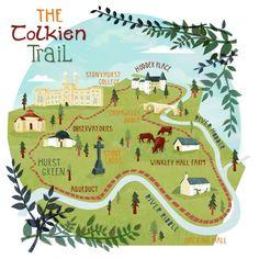 Tolkien trail kerryhyndman.co.uk