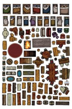 Homebrewing design Object Sheets - Home Furniture Arcknight Cthulhu, Dungeon Tiles, Dungeon Maps, Dungeons And Dragons Homebrew, D&d Dungeons And Dragons, Rpg Wallpaper, Rpg Dice, Dnd Character Sheet, Character Concept