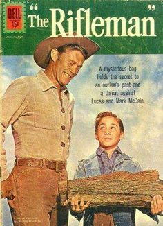 """Book spin-off from """"The Rifleman."""""""