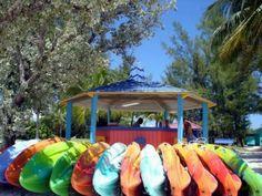 Pastel Kayaking