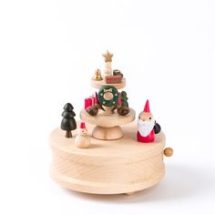 Handmade Holiday Gifts Wooden Music Box Price $24.95