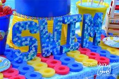Pool Party Theme for Kids