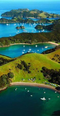 Urupukapuka Island Campground, NZ