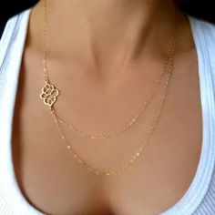 Gorgeous necklace Beautiful gold plates necklace with nice design-1 in stock Jewelry Necklaces