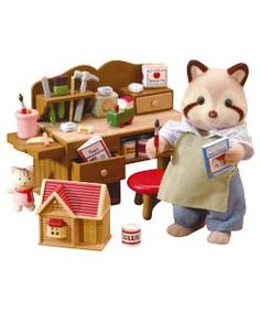 Sylvanian Families The Toymakers Set