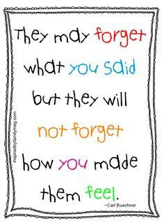 Zum Schulanfang: Bitte liebe Lehrpersonen, überschätzt bitte nicht eure Inhalte. Achtet vor allem auch auf das WIE!