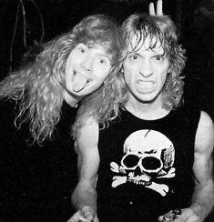 Dave Mustaine/Gar Samuelson
