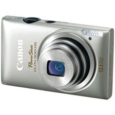 Canon PowerShot ELPH 300 HS 12 MP CMOS Digital Camera with Full HD Video (Silver) Product Features World's thinnest digital camera with a ultra Wide Canon Elph, Canon Powershot Elph, Best Vlogging Camera, Best Dslr, Lomo Camera, Best Digital Camera, Digital Cameras, Digital Slr, Canon Ixus