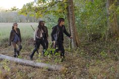 """Tracking Daryl   1208 Carver Rd Griffin, GA 30224   S6E15 """"East"""": This is the location where Rosita, Glenn, and Michonne arrive to track Daryl. Rosita is asked where Dwight and his group took off so they can better track Daryl's whereabouts.....1208 Carver Rd Griffin, GA 30224"""