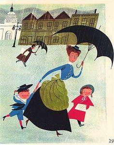 Mary Blair Mary Poppins
