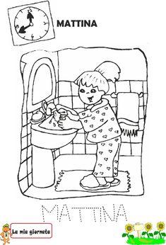 Idee e proposte didattiche per lo sviluppo e l'apprendimento. Risorse per insegnanti, educatori, genitori e Bambini Routine, Teaching English, L2, Activities For Kids, Snoopy, Diy Baby, Comics, School, Children