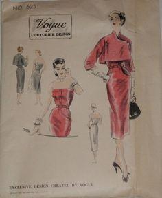 Vogue Couturier 625, ca 1951