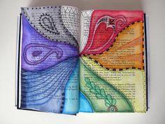 Custom Book Page - To Kill a Mockingbird by Phizzychick!, via Flickr