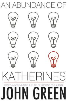 Entry for John Green's AN ABUNDANCE OF KATHERINES cover contest