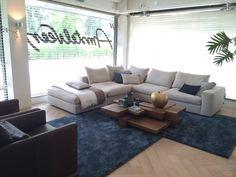 The Hamptons sofa in etalage co. #pin_it @mundodascasas