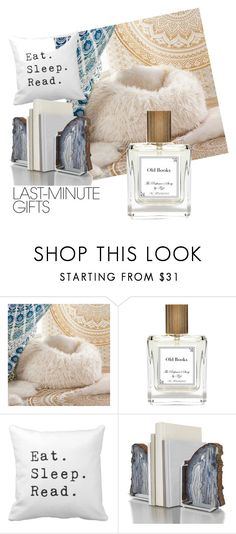 """#PolyPresents: Last-Minute Gifts"" by miranda-reynolds-fick ❤ liked on Polyvore featuring interior, interiors, interior design, home, home decor, interior decorating, PBteen, The Perfumer's Story by Azzi, ANNA by RabLabs and contestentry"