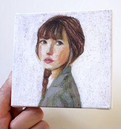Tiny canvas print by tushtush