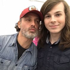 The Walking Dead Chandler Riggs, Carl The Walking Dead, Walking Dead Cast, Carl Grimes, Judith Grimes, Andrew Lincoln News, The 100, Walker Stalker, Stuff And Thangs
