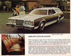 1977 Mercury Cougar Villager Station Wagon by coconv, via Flickr