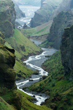 Hvannárgil, Iceland