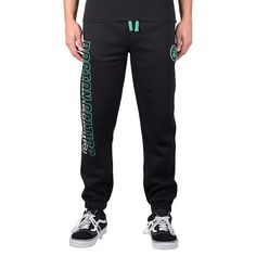 Kick it on game day in these men's Boston Celtics jogger pants. Jogger Pants, Joggers, Sweatpants, Boston Celtics, Large Black, Track, Products, Fashion, Moda