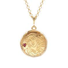 Gold Coin Necklace, Love Necklace, Aphrodite Goddess, Daughter Of Zeus, Golden Apple, Goddess Of Love, Fashion Sale, Greek Mythology, Gold Coins