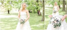 Vintage wedding anemone bouquet Anemone Bouquet, One Shoulder Wedding Dress, Floral Design, Wedding Dresses, Vintage, Fashion, Bride Dresses, Moda, Bridal Gowns