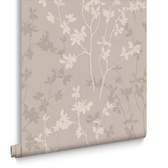 Nature Taupe Wallpaper