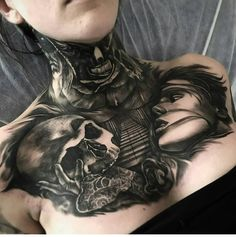 Crazy work from Dylan Weber tattoos
