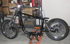 1972 Sportster XLH 1000cc Ironhead Harley by Jon