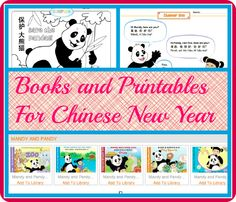 Books and Printables for Chinese New Year - bilingual books that help you learn Chinese