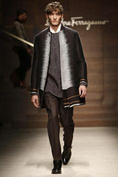 Salvatore Ferragamo Menswear Fall Winter 2014 Milan - NOWFASHION