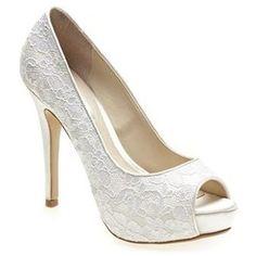 Lace wedding shoes - I want something like this!!