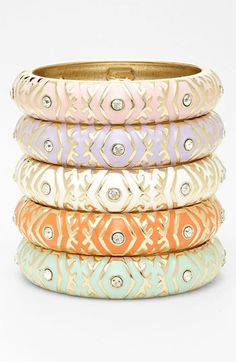 Sequin Hinged Bangle available at #Nordstrom