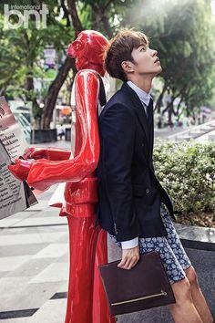 #HongJongHyun Takes a Bubble Bath and Describes His Ideal Type for bnt International