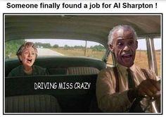 Hillary / Al Sharpton
