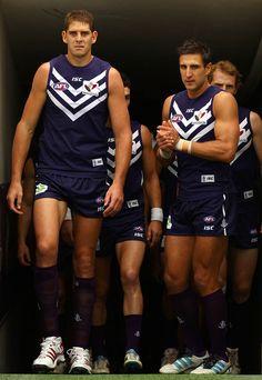 Matthew Pavlich from the Fremantle Dockers AFL Rd 7 - Fremantle v Port Adelaide http://footyboys.com